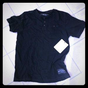 Other - NWT Men's black T-shirt by Broken Threads